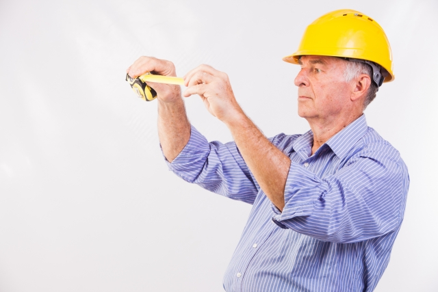 建築業の男性