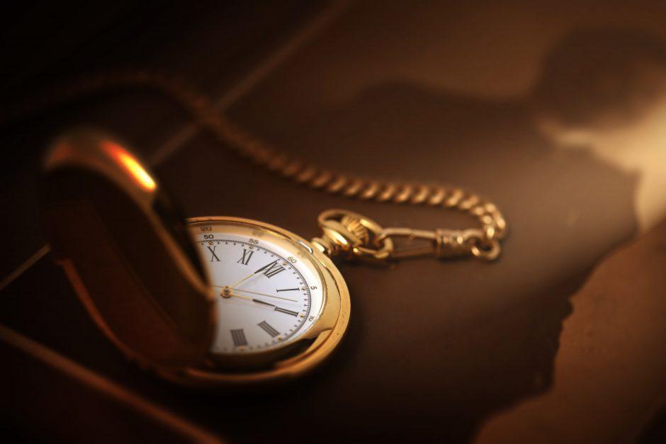 個人の形見の懐中時計
