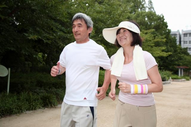 ジョギング 夫婦